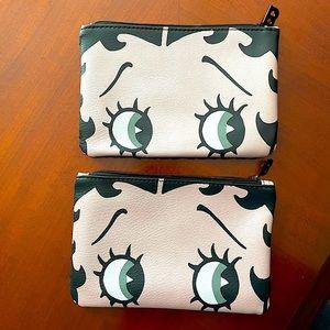 Ipsy Bag-Betty Boop x2